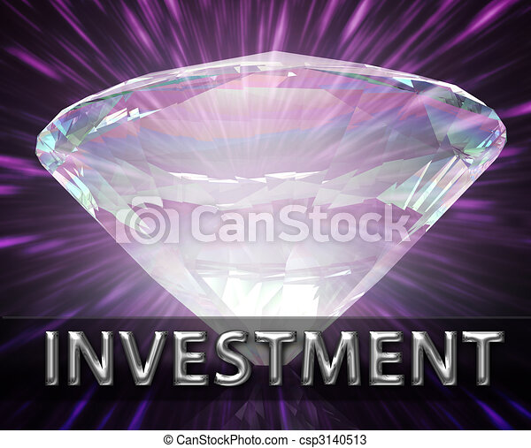 Weath savings investment concept - csp3140513