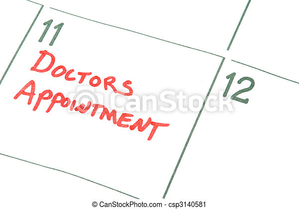 Doctors Appointment - csp3140581