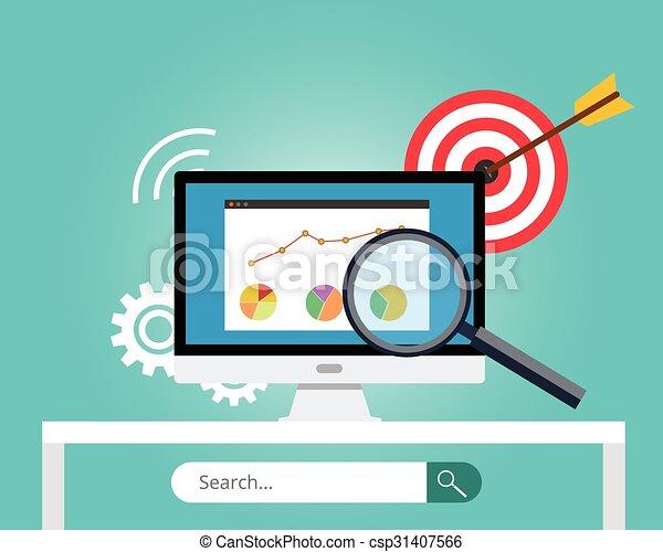 seo search engine optimization - csp31407566