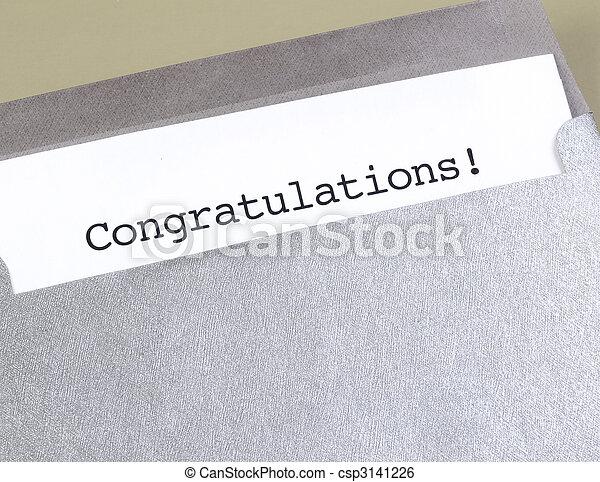 Congratulations! - csp3141226