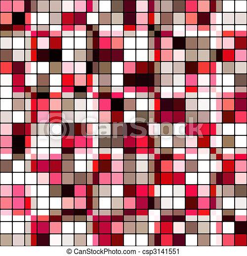 banco de ilustrao azulejo retro mosaico