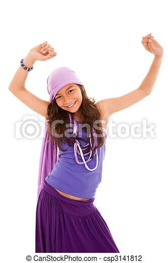 fashion little girl - csp3141812