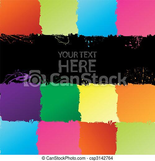 Grunge spectrum background - csp3142764