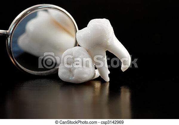 智慧, 牙齒 - csp3142969