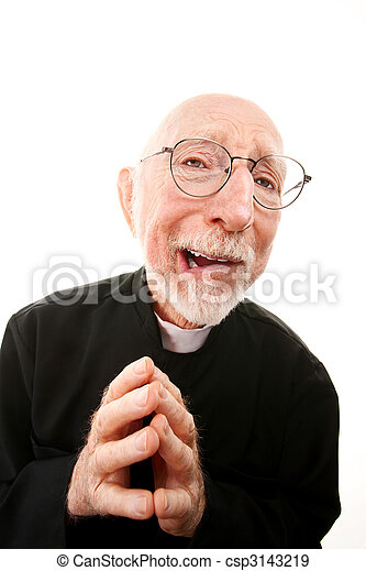 Stock Photo - Funny Priest - stock image, images, royalty free photo ...
