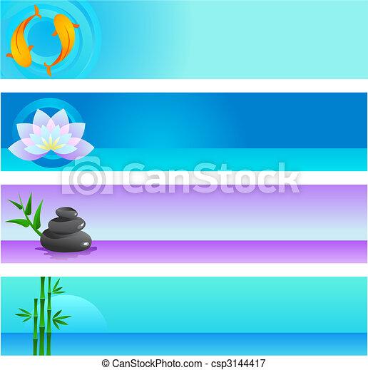 Zen  background templates - csp3144417