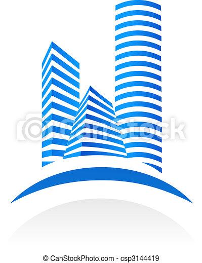 Real estate symbol - csp3144419