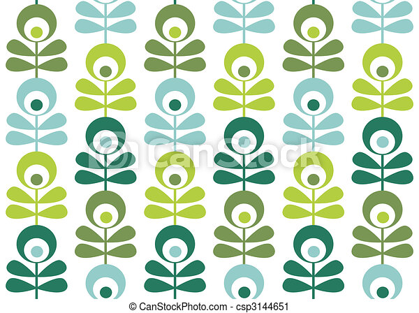 seamless retro pattern  - csp3144651