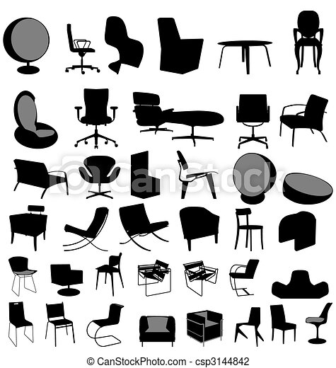 chairs collection - csp3144842