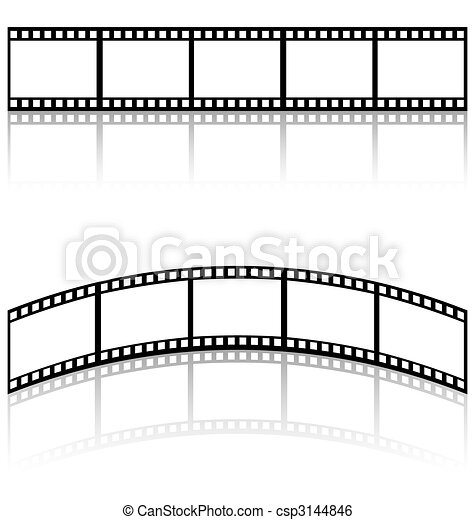 filmstrip templates - csp3144846
