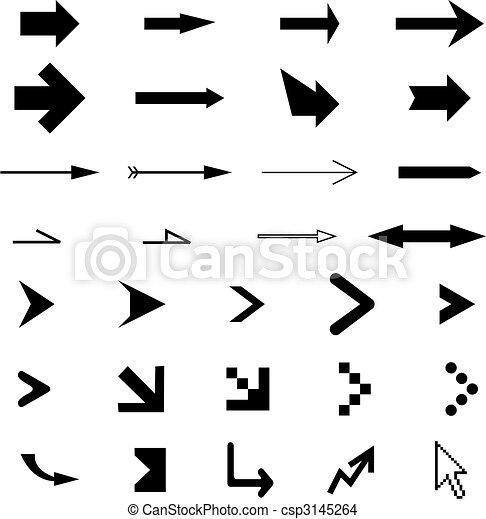 arrows collection - csp3145264