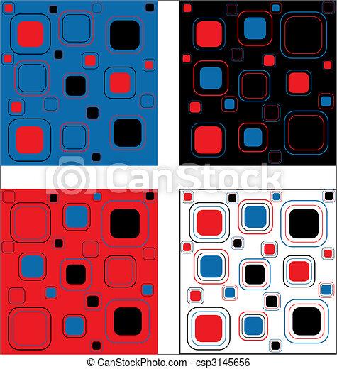 retro pattern - csp3145656