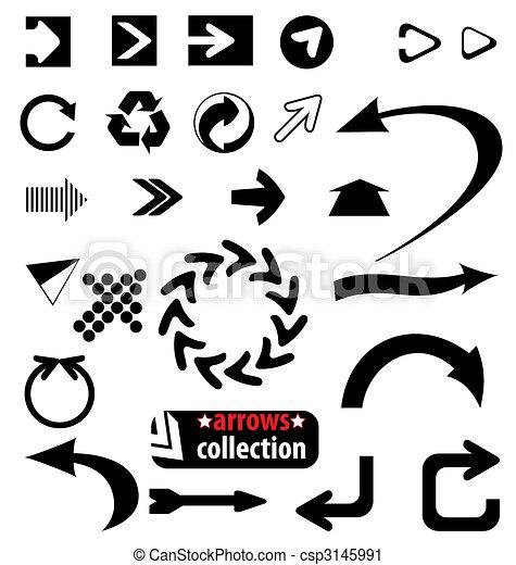 arrows set - csp3145991