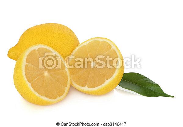フルーツ, レモン - csp3146417