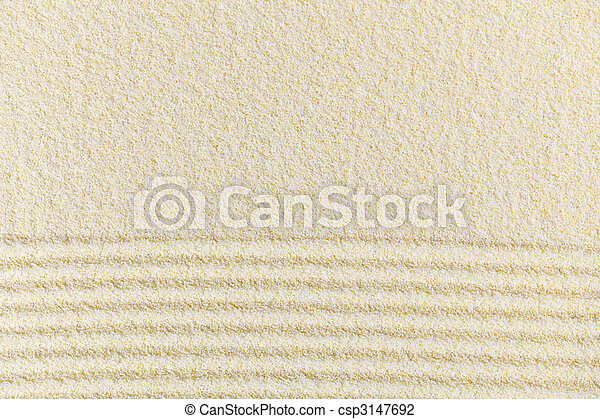 Sandy yellow decorative background - csp3147692
