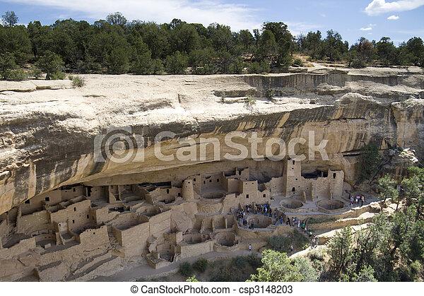 Ancient Indian city - csp3148203