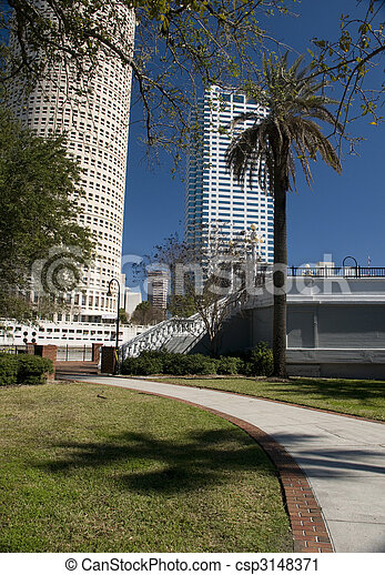 Downtown Tampa - csp3148371