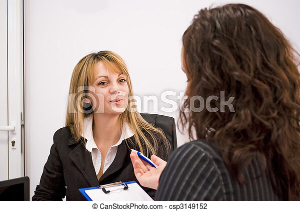 job interview - csp3149152