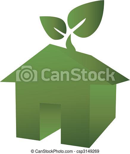 eco green house - csp3149269