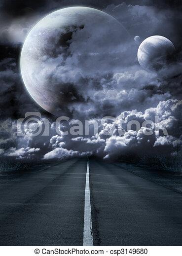 Road to surreal galaxy - csp3149680