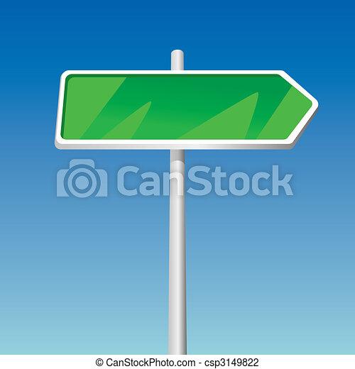 Signpost (vector) - csp3149822