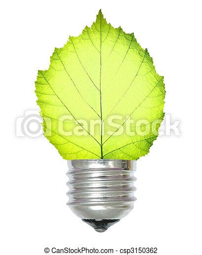Energie, grün - csp3150362