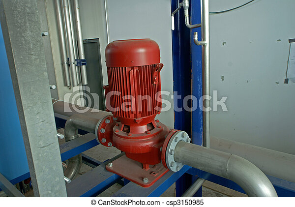 industrial pipelines and pumps      - csp3150985