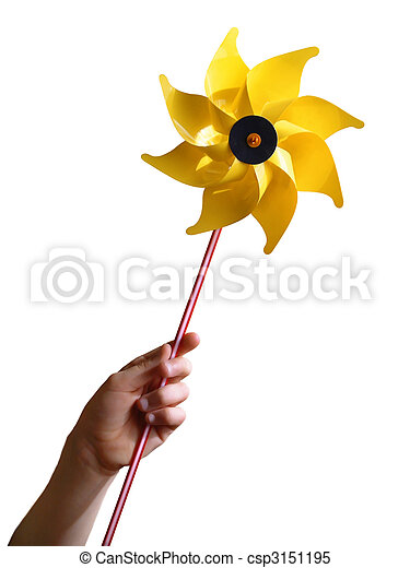 Yellow Windmill - csp3151195