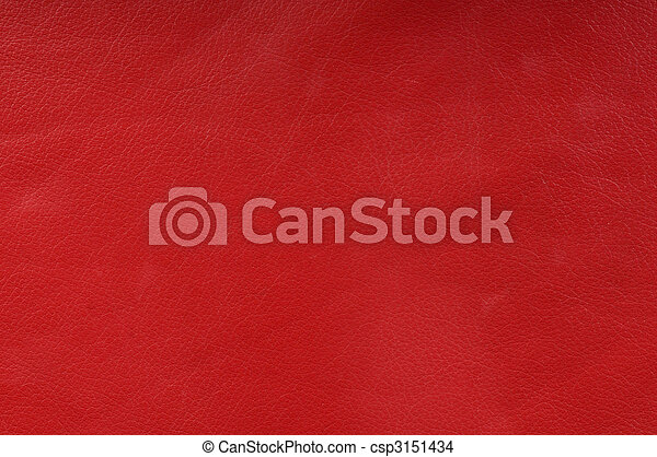 genuine red leather texture for background - csp3151434