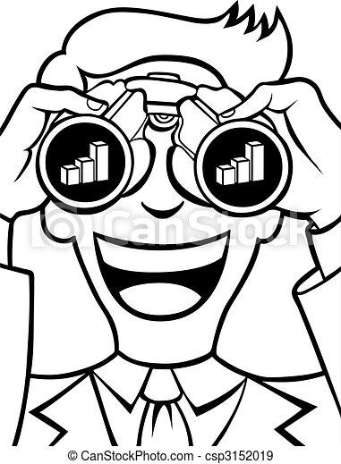Profit Forecasting Line Art - csp3152019