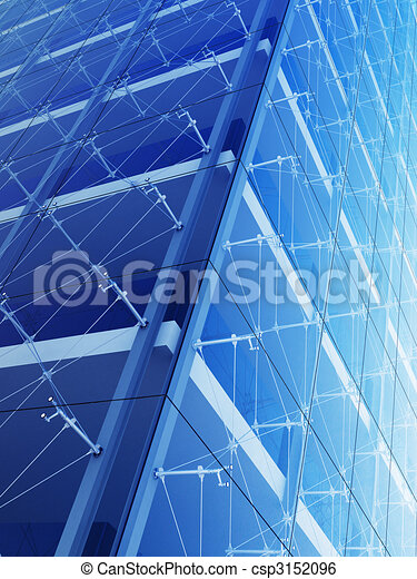 Skyscraper closeup - csp3152096