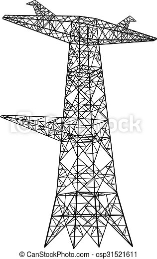 The Chumash And Tomol also Tesceive moreover 20 Awesome Things Color Fun Kids also Vector Silhouette Of Power Lines 5191335 as well Electric Power Transmission Support 14768652. on large power lines
