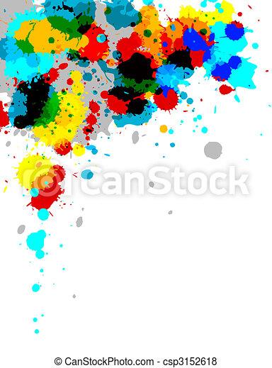 Paint Splash - csp3152618