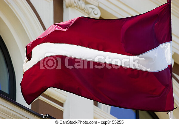 Latvian Flag - csp3155255