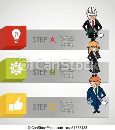 Clipart Vector Of Plan Word Written By 3D Man Over Transparent