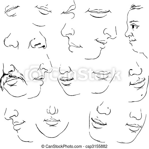 Set of mouth - csp3155882