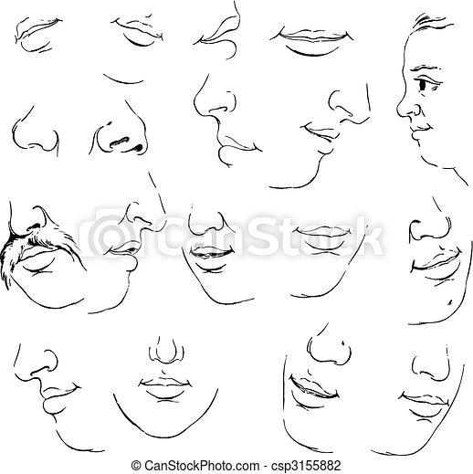 Set of mouth - csp3155882
