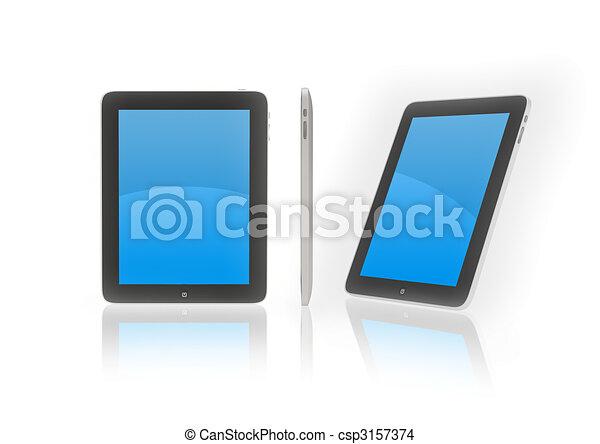 Ultra new iPad device - csp3157374