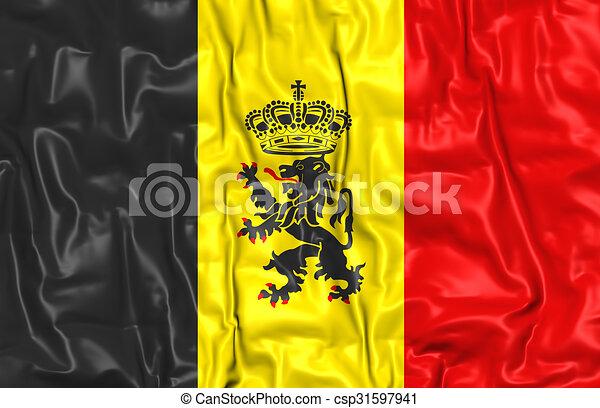 Government Ensign of Belgium - csp31597941