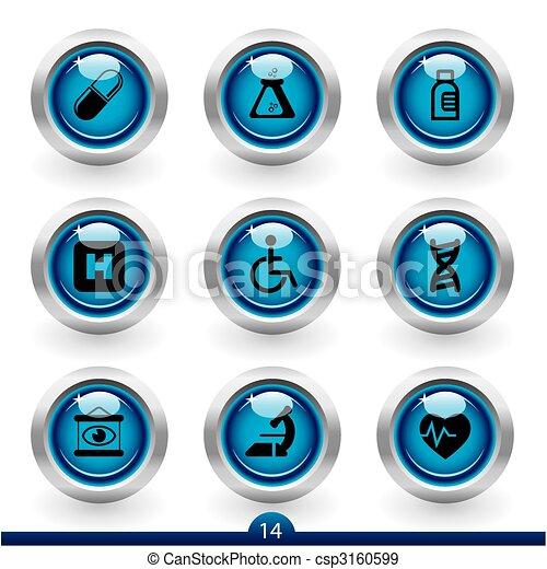 Icon series 14 - medical - csp3160599