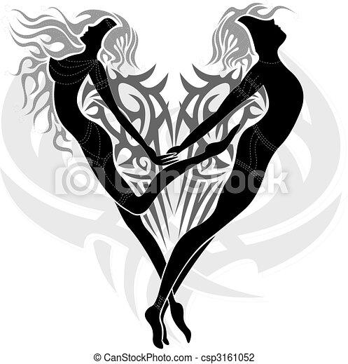 Loving angels  - csp3161052