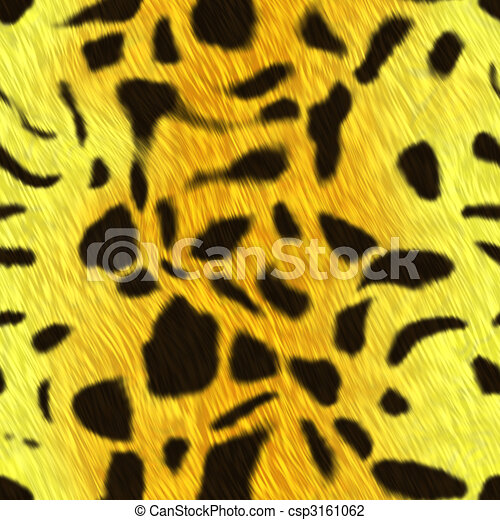 Spotted animal skin fur - csp3161062