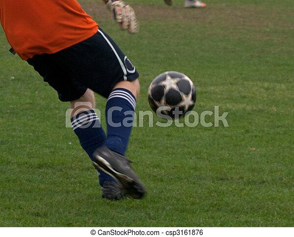 Soccer League action - csp3161876