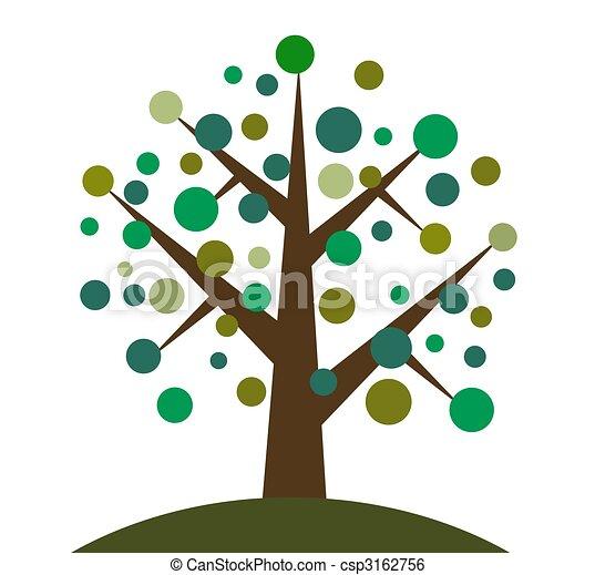 retro tree - csp3162756