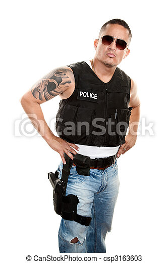 Tough Cop - csp3163603