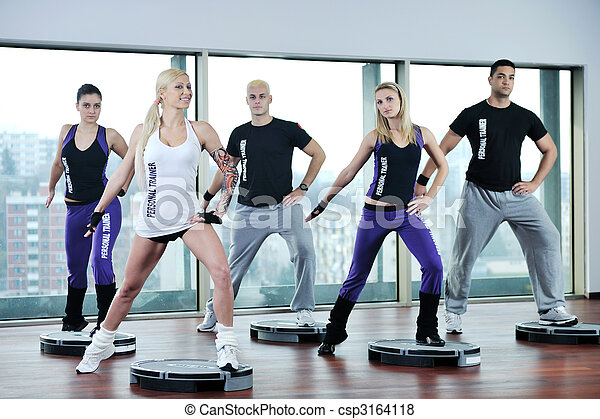 fitness group - csp3164118