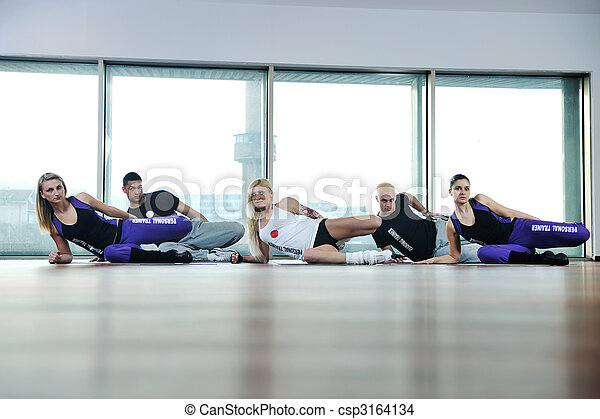 fitness group - csp3164134