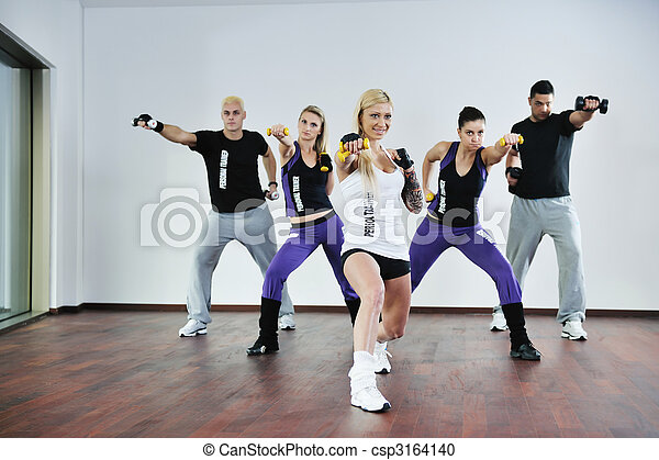 fitness group - csp3164140