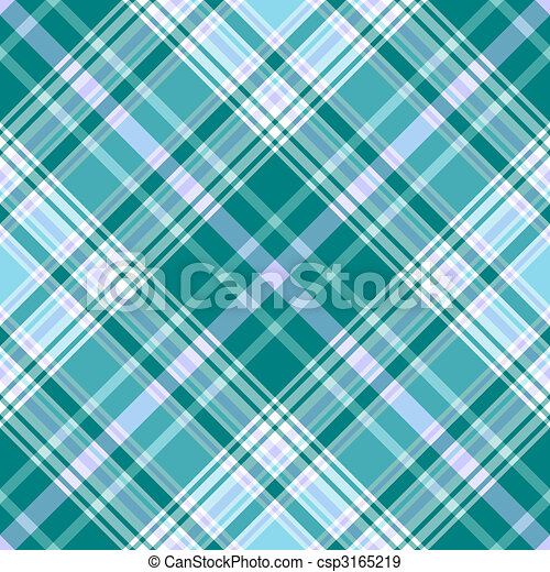 Seamless vivid blue diagonal pattern - csp3165219