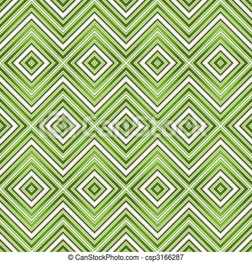 Abstract green seamless zigzag pattern - csp3166287